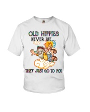 OLD HIPPIES NEVER DIE Youth T-Shirt thumbnail