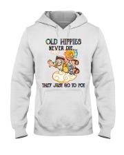 OLD HIPPIES NEVER DIE Hooded Sweatshirt thumbnail