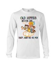 OLD HIPPIES NEVER DIE Long Sleeve Tee thumbnail