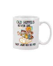 OLD HIPPIES NEVER DIE Mug thumbnail