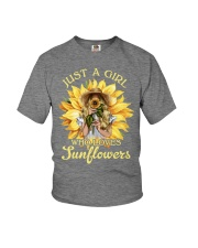 JUST A GIRL Youth T-Shirt thumbnail
