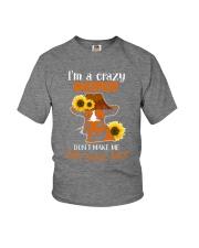 I AM A CRAZY Youth T-Shirt thumbnail
