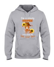 I AM A CRAZY Hooded Sweatshirt thumbnail