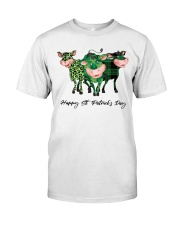 HAPPY ST PATNICKS DAY Classic T-Shirt front
