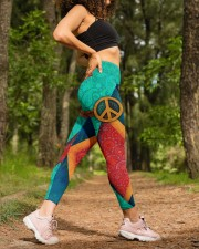Peace Legging High Waist Leggings aos-high-waist-leggings-lifestyle-20