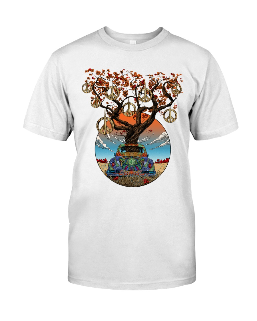 PEACE TREE CAR Classic T-Shirt