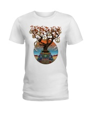 PEACE TREE CAR Ladies T-Shirt thumbnail