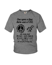 PEACE AND DOGS Youth T-Shirt thumbnail
