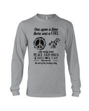 PEACE AND DOGS Long Sleeve Tee thumbnail