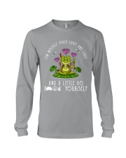 IM MOSTLY PEACE LOVE AND LIGHT Long Sleeve Tee thumbnail