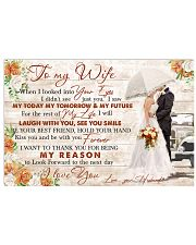 I LOVE YOU FOREVER AND ALWAYS 17x11 Poster front