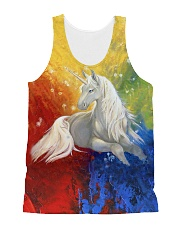 LIMITED EDITION All-over Unisex Tank front