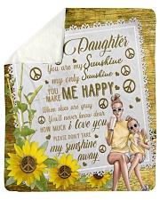 To my Daughter Quilt Sherpa Fleece Blanket tile