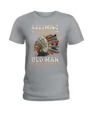 ASSUMING Ladies T-Shirt thumbnail
