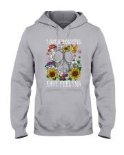 I GOT A PEACEFUL  Hooded Sweatshirt thumbnail