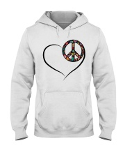 LOVE PEACE Hooded Sweatshirt thumbnail