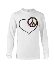 LOVE PEACE Long Sleeve Tee thumbnail