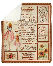 "To my Daughter Sherpa Fleece Blanket - 50"" x 60"" thumbnail"