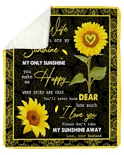 "FAMILY YOU ARE MY SUNSHINE Sherpa Fleece Blanket - 50"" x 60"" thumbnail"
