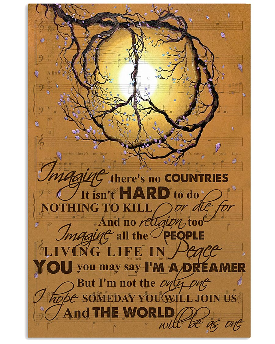 LIVING LIFE IN PEACE 11x17 Poster