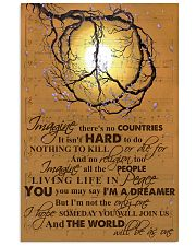LIVING LIFE IN PEACE 11x17 Poster front