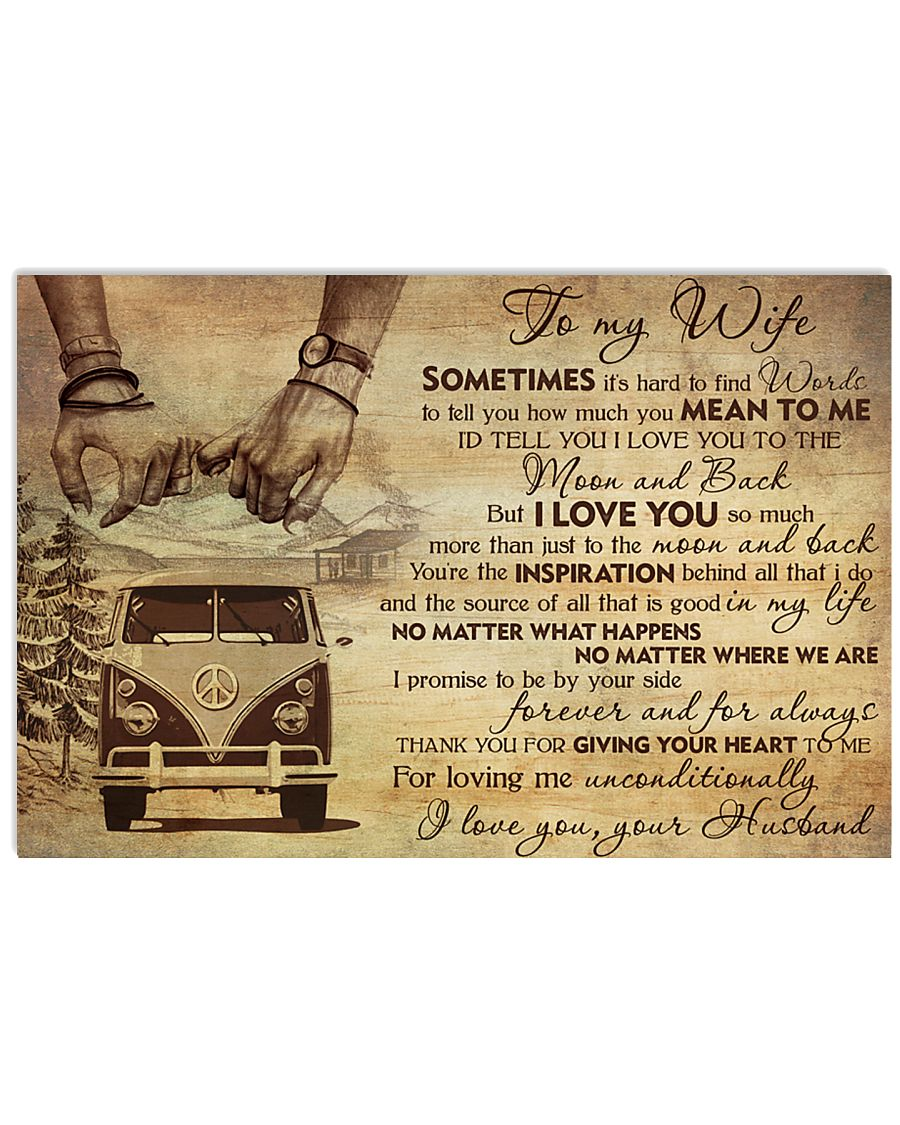 Husband wife 17x11 Poster