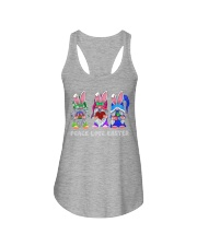PEACE LOVE EASTER Ladies Flowy Tank thumbnail