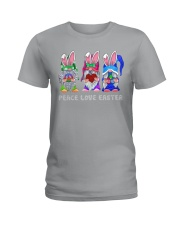 PEACE LOVE EASTER Ladies T-Shirt tile