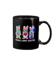 PEACE LOVE EASTER Mug thumbnail