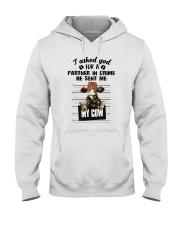 I ASKED GOD Hooded Sweatshirt thumbnail