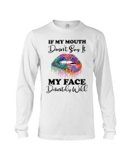 IF MY MOUTH Long Sleeve Tee thumbnail