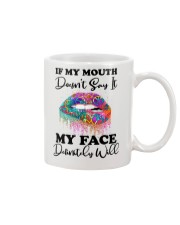 IF MY MOUTH Mug thumbnail