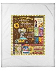 """Hippie Quilt Fleece Blanket - 50"""" x 60"""" front"""