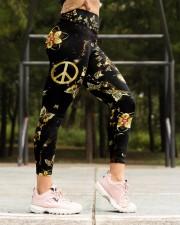 Butterfly Peace Legging High Waist Leggings aos-high-waist-leggings-lifestyle-16