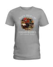 THATS WHAT I DO Ladies T-Shirt thumbnail