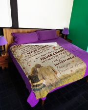 "FAMILY Large Fleece Blanket - 60"" x 80"" aos-coral-fleece-blanket-60x80-lifestyle-front-01"