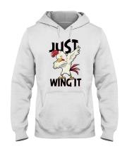 JUST WING IT Hooded Sweatshirt thumbnail