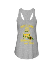 JUST A GIRL WHO LOVES Ladies Flowy Tank thumbnail