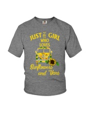 JUST A GIRL WHO LOVES Youth T-Shirt thumbnail