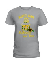 JUST A GIRL WHO LOVES Ladies T-Shirt thumbnail