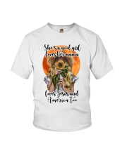 SHE IS A GOOD GIRL LOVES HER MAMA Youth T-Shirt thumbnail