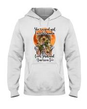 SHE IS A GOOD GIRL LOVES HER MAMA Hooded Sweatshirt thumbnail