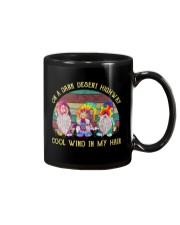 ON A DARK DESERT HIGHWAY Mug thumbnail
