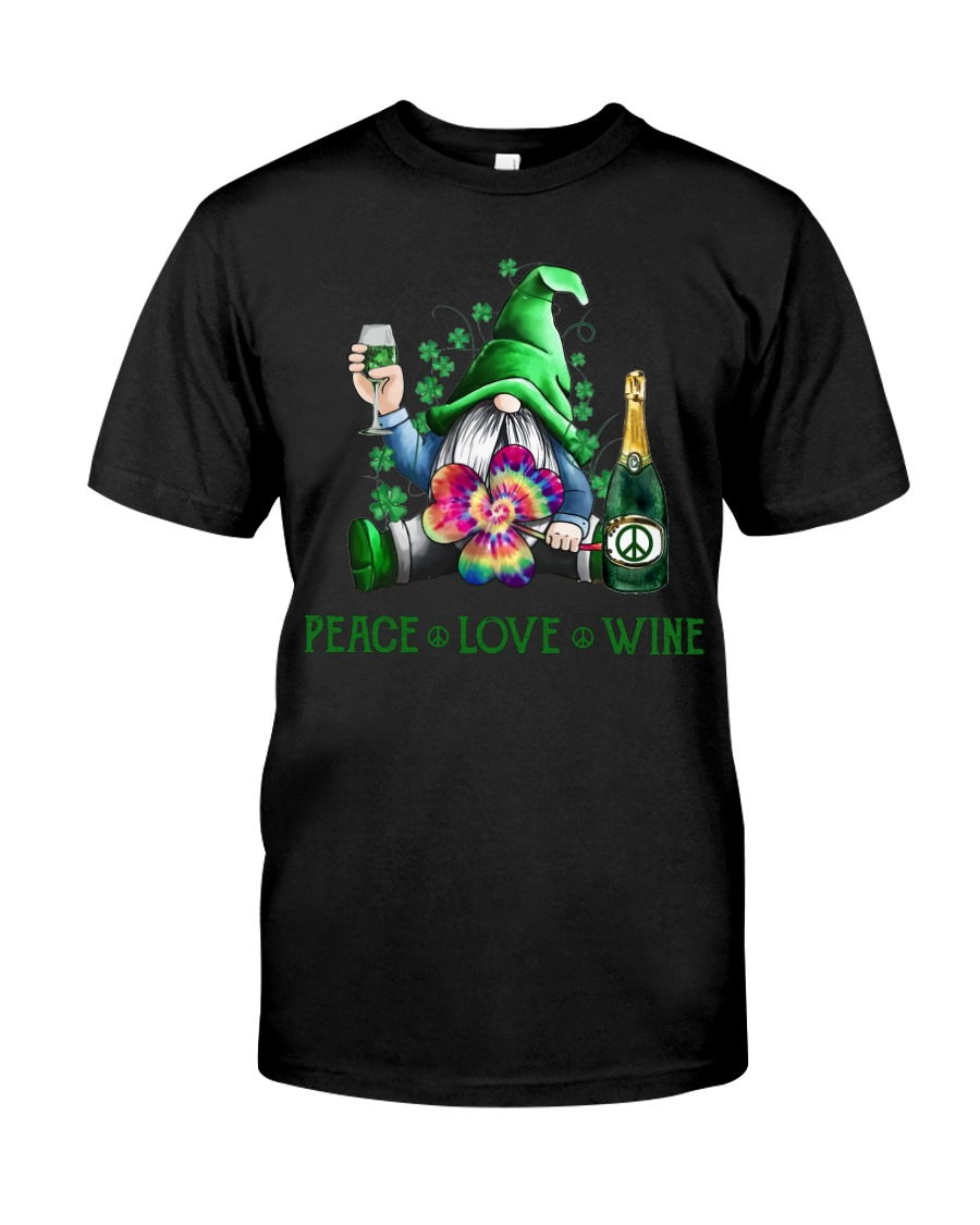 PEACE LOVE WINE Classic T-Shirt