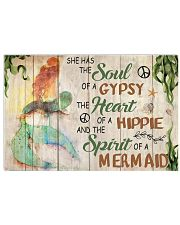 MERMAID 17x11 Poster front