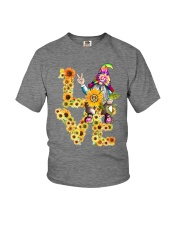 HIPPIE LOVE Youth T-Shirt thumbnail