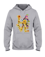HIPPIE LOVE Hooded Sweatshirt tile
