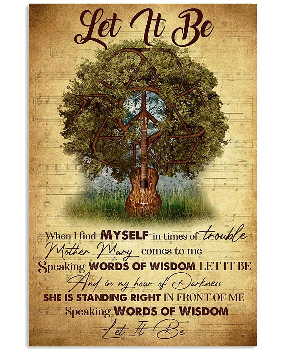 SPEAKING WORDS OF WISDOM 11x17 Poster
