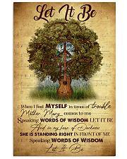 SPEAKING WORDS OF WISDOM 11x17 Poster front