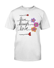 LIVE LOVE Classic T-Shirt front